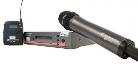 Sennheiser Mikrofonstation